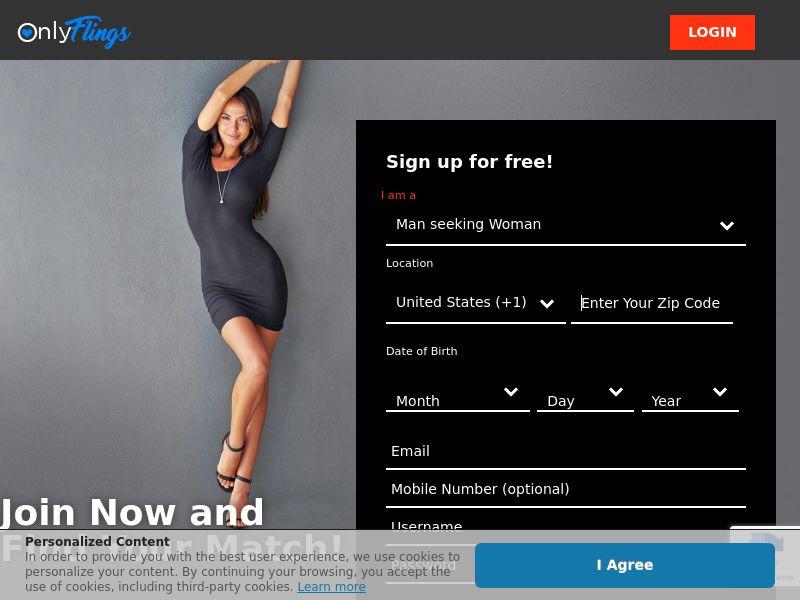 OnlyFlings - Direct Advertiser - US, CA, AU