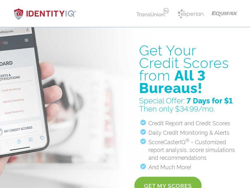 Credit Essentials - $1 7 Day Trial   US