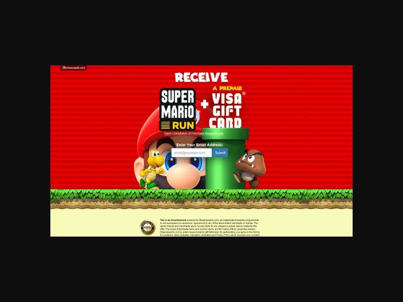 Super Mario Run - One Field
