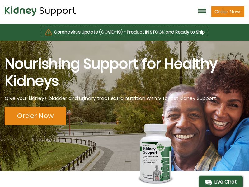 Kidney Support | Dietary Supplement for Healthy Kidneys