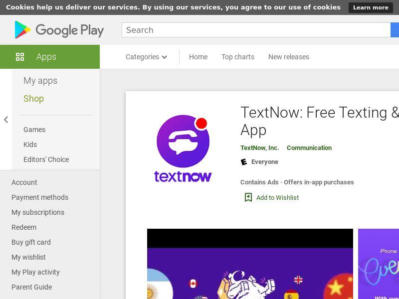 TextNow Android US