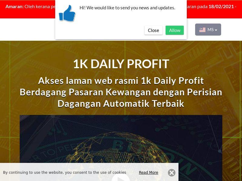 1k Daily Profits Malay 2268