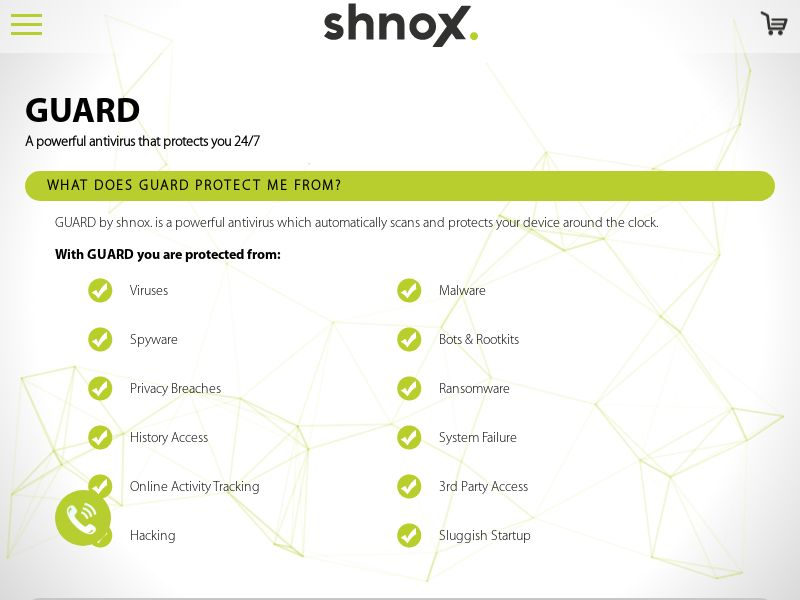 Shnox AntiVirus - CA,UK,IE,US - CPA
