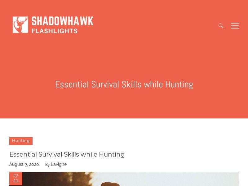 Flashlight - Shadowhawk X800 - Tactical Light (US)