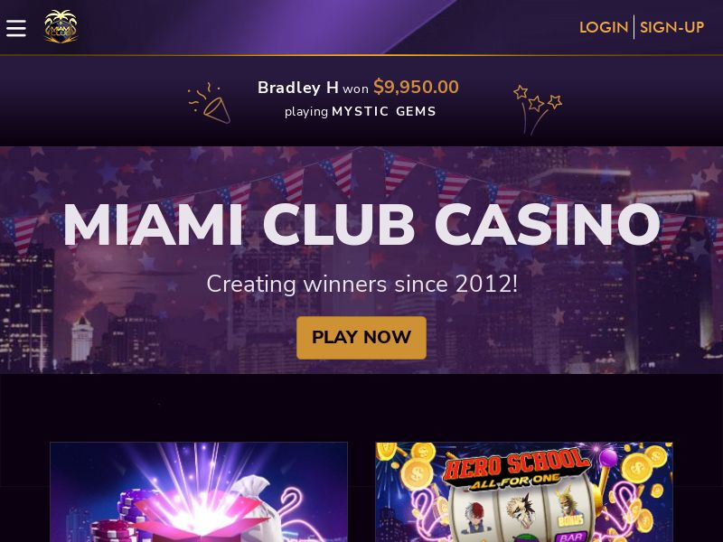 Miami Club casino CPA US