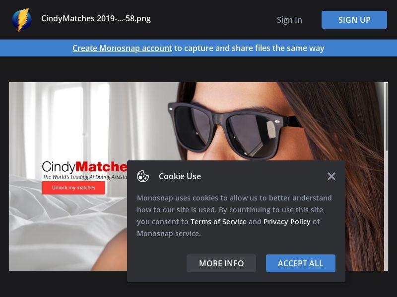 WEB/MOB CindyMatches AU/CA/UK/IE/NZ/US/ZA