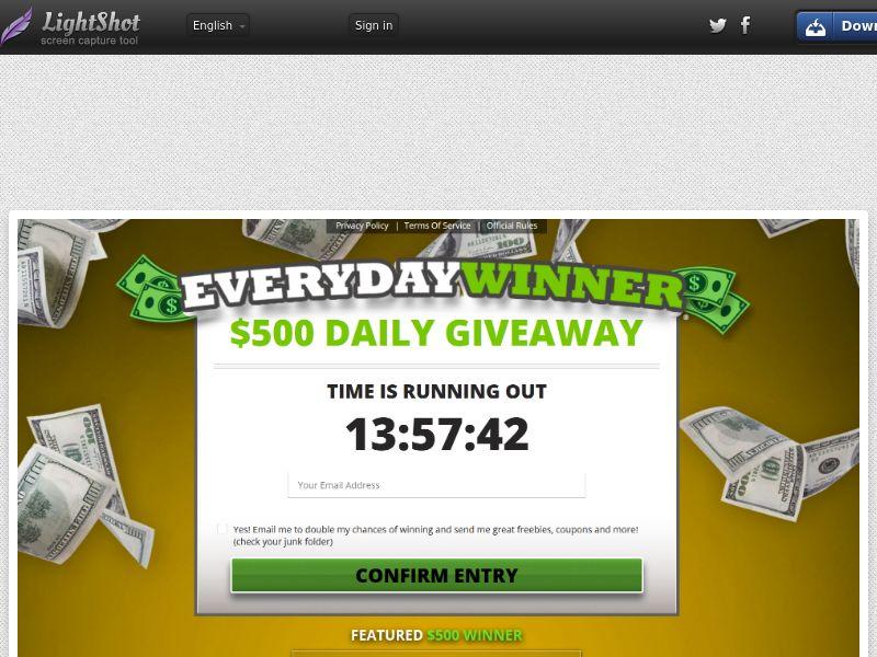 [WEB/MOB] Everyday Winner - CPL SOI /US