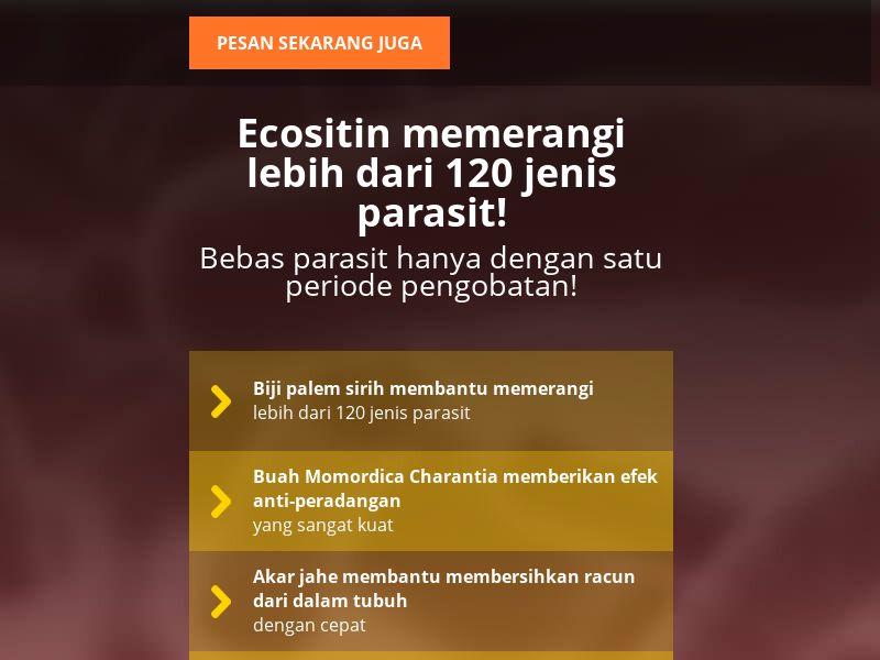 Ecositin ID - anti-parasite product