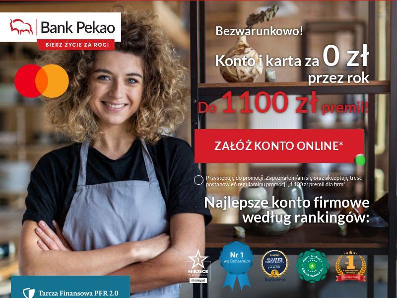 Bank Pekao: Konto Firmowe PL CPS