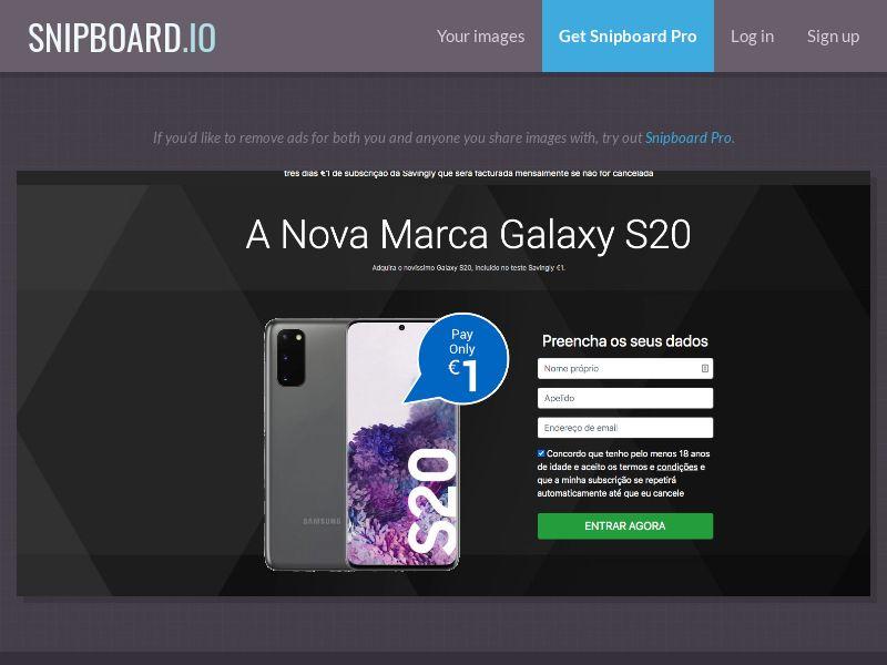 37070 - PT - OrangeViral - B - Samsung Galaxy S20 - CC submit