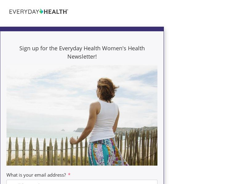 Sign up for the Women's Newsletter! - US