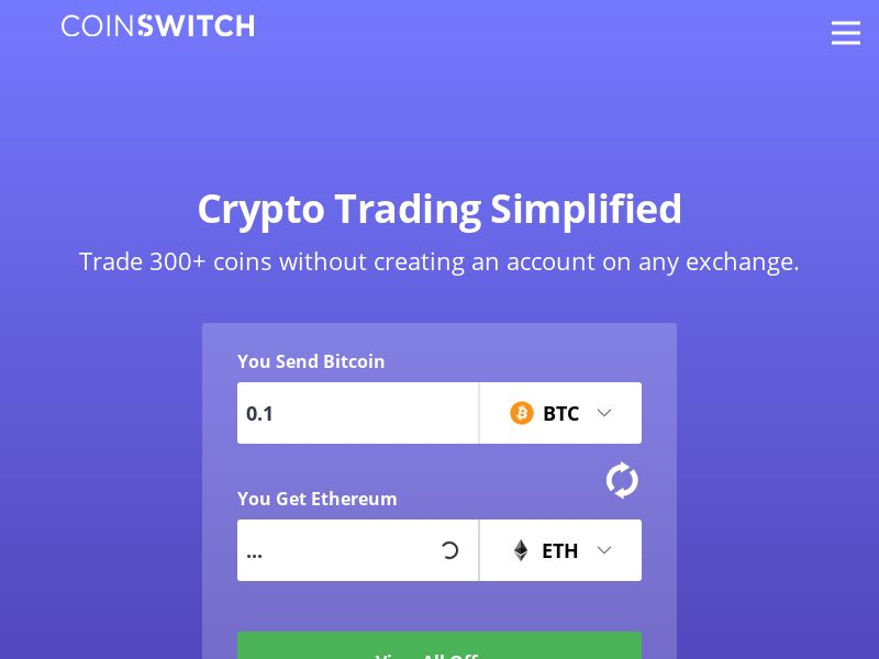 Coinswitch.co CPR - India