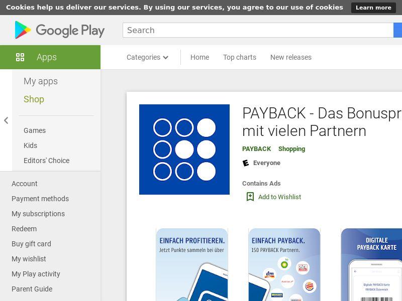 PAYBACK Android AT (HARD KPI)