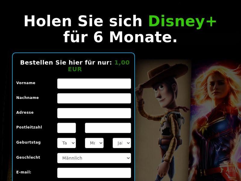 Disney+ (6 Month) - DE