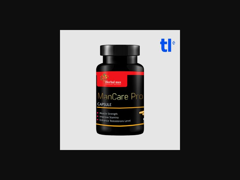 ManCare - adult - CPA - COD - Nutra