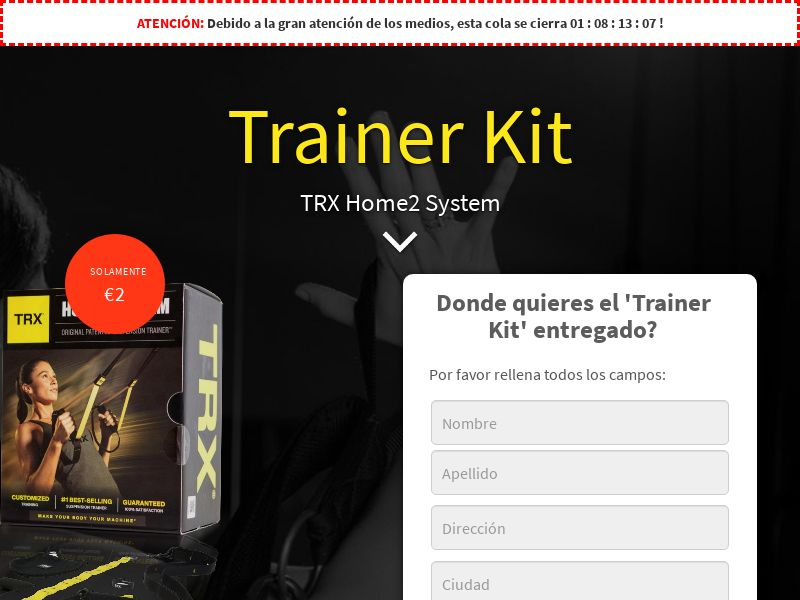 Date Stars - TRX Fitness (CC) - Mobile and Desktop - ES - Incent OK