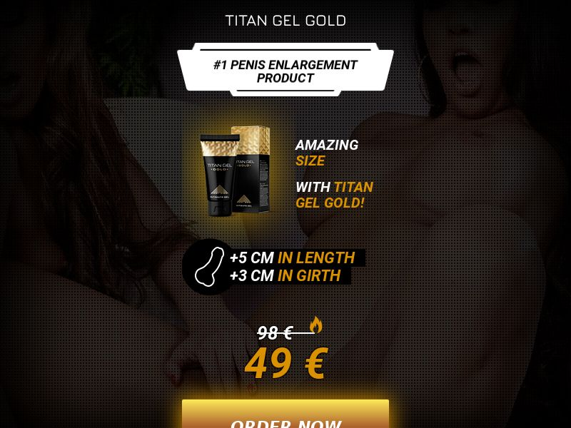 Titan gel Gold - IE