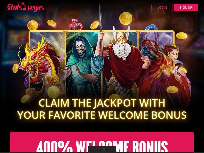 Slots of Vegas - Casino - AU, CA - (CPA)