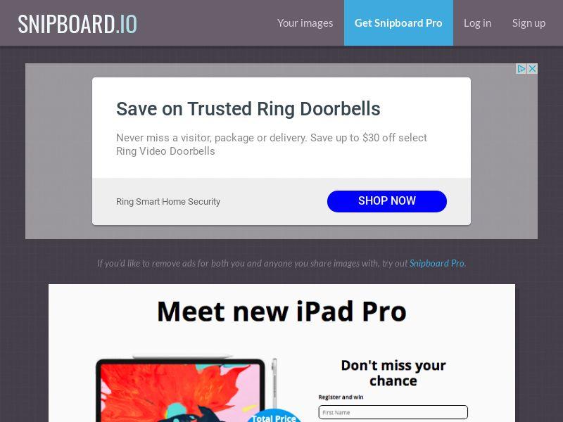 G33K - iPad Pro CH - CC Submit