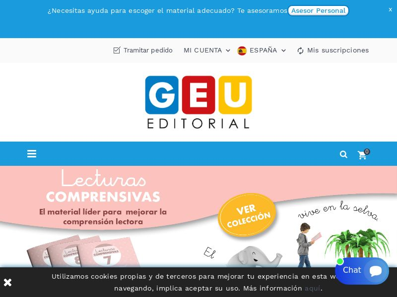 GEU Editorial - ES (ES), [CPS], Knowledge, Tutorials, House and Garden, For children, Sport & Hobby, Sell, guide, shop, gift