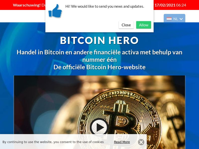 Bitcoin Hero - 2 Dutch 1485