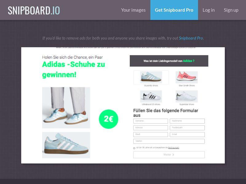 BigEntry - Adidas v3 DE/AT - CC Submit