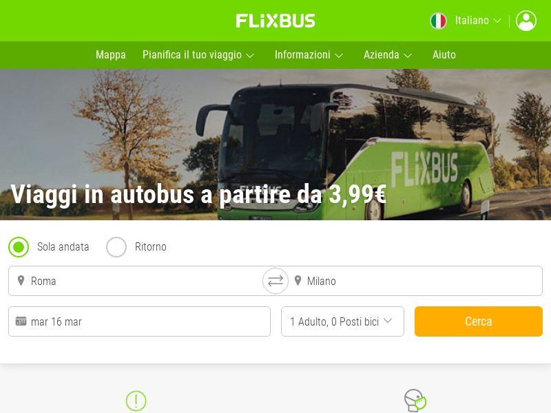 Flixbus - IT (IT), [CPL | CPS], Transport and Travel, Transport, Sell, holiday