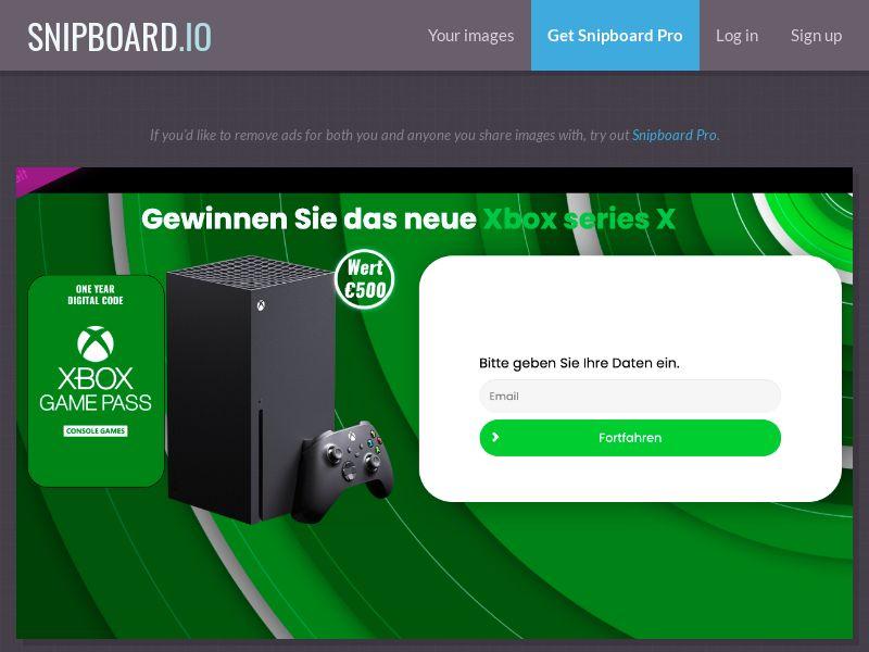 37299 - LU - ConsumersConnect - Xbox series X - SOI