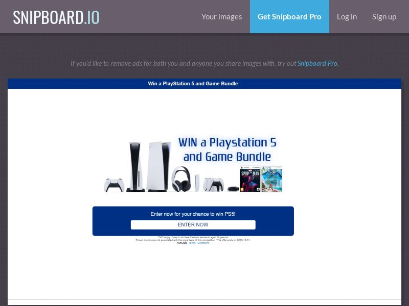 Win a Playstation 5 - INCENT - AU