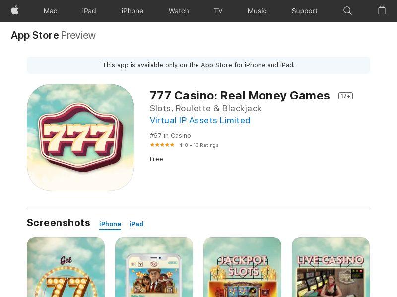 UK - 777 - iOS CPA (direct)