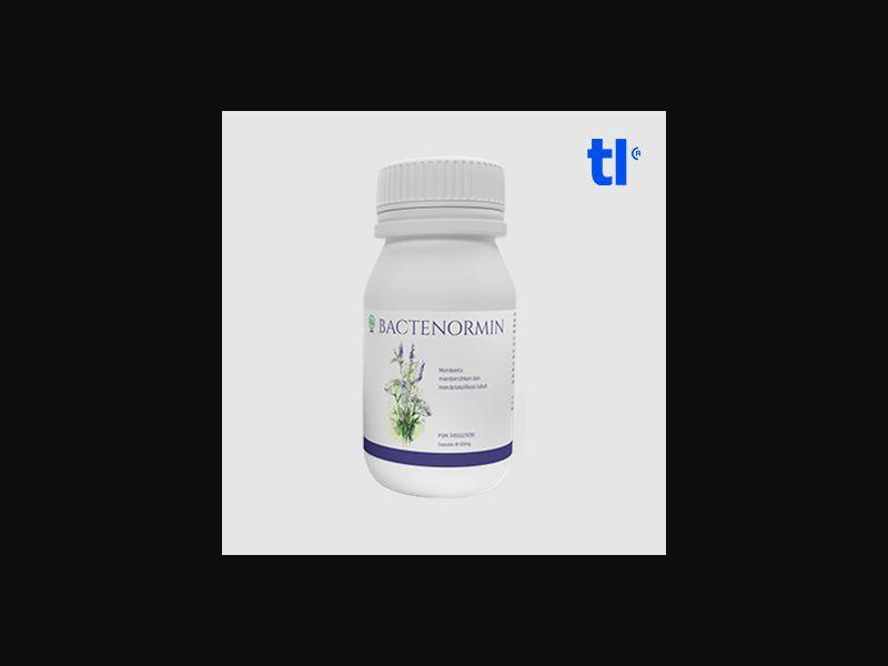 Bactenormin - health - CPA - COD - Nutra