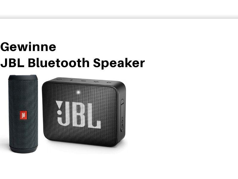 DE - Win JBL Bluetooth Speaker - SOI - Non Incent *CPL <<*PENDING*PRIVATE OFFER*>>