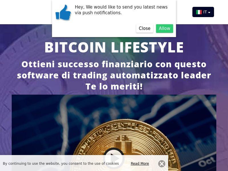 Bitcoin lifestyle Italian 3867