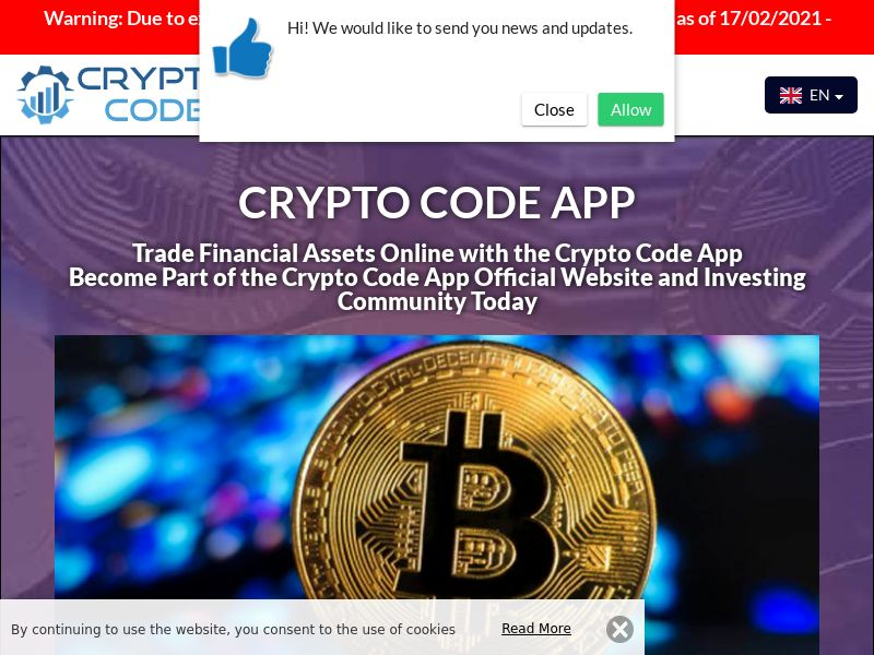 Crypto Code App Dutch 2906