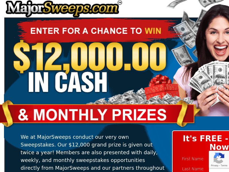 Major Sweeps - INCENT - US
