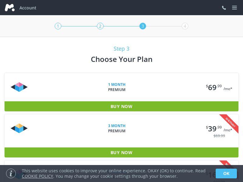 mSpyTM - Phone monitoring - Choose your Plan