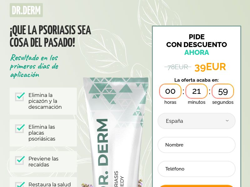 Dr.Derm ES - anti-psoriasis product