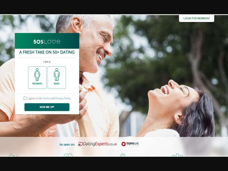 Dating - 50S Love - Meet Singles Over 50 - SOI- CPL