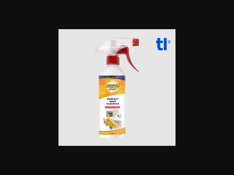Foam Cleaner - White Hat - CPA - COD - White Hat