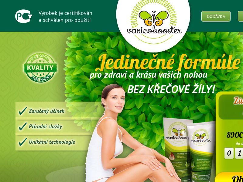 Varicobooster CZ — varicose vein cream