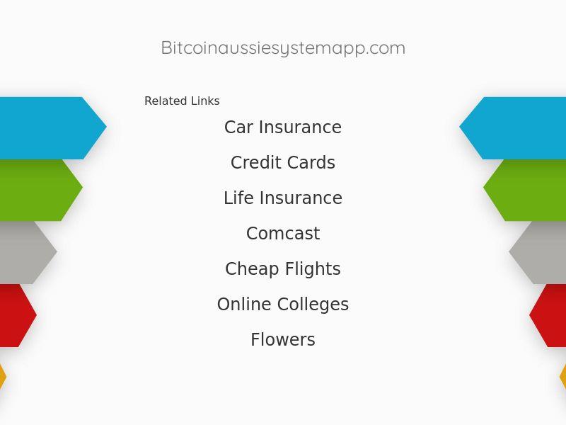 Bitcoin Aussie System - AU