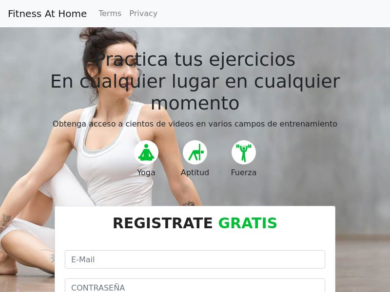 Fitness At Home - MX - CPS