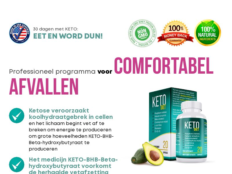 KETO DIET NL - weight loss treatment