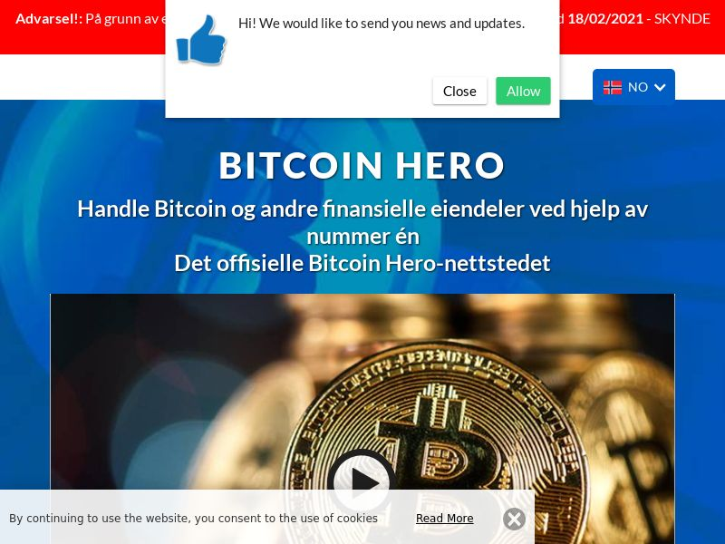 Bitcoin Hero - 2 Norwegian 1488