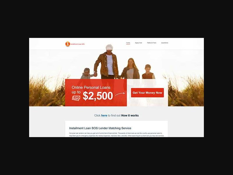 Installment Loan SOS - US