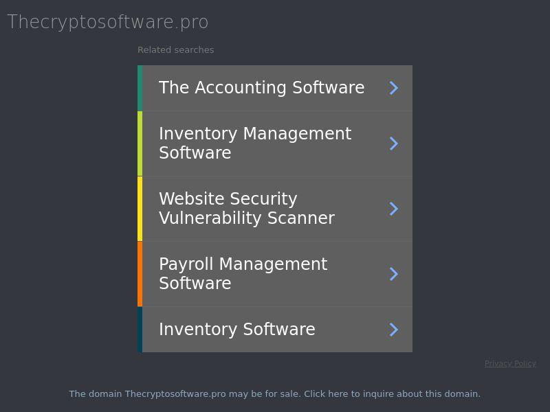 Cryptosoft IT (IT), [CPA]