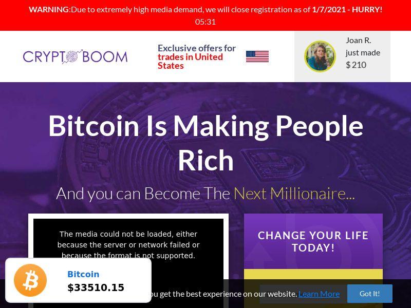 Crypto Boom - Smartlink - 58 Countries