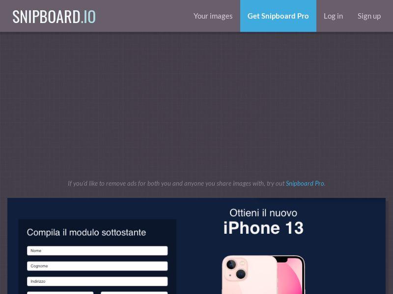 BigEntry - iPhone 13 v1 IT - CC Submit
