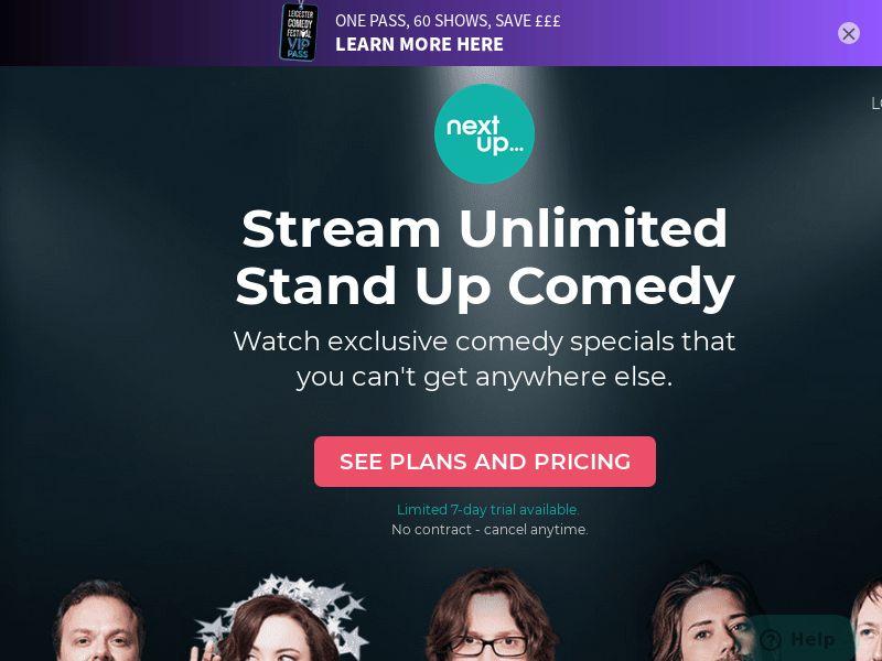 UK - NextUp Comedy