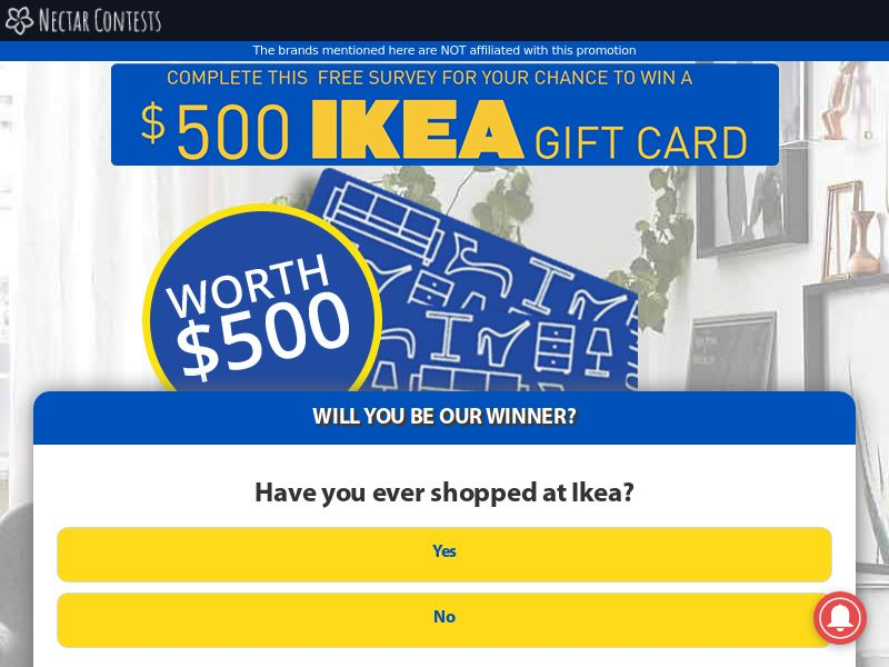 IKEA gift card - AU (AU), [CPL], Lotteries and Contests, Single Opt-In, paypal, survey, gift, gift card, free, amazon